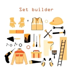 Collection elements for building and repair vector