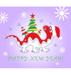 dragon new year 2012 vector image