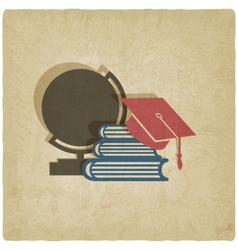 education old background vector image