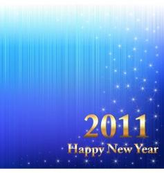 happy new year 2011 vector image