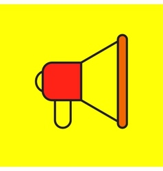 icons megaphone vector image