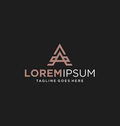 Letter a logo design inspiration vector