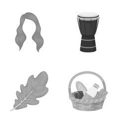 Recreation nature ecology and other web icon vector