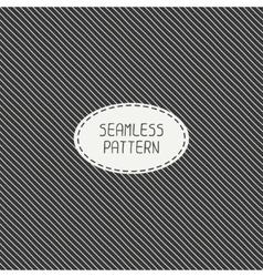 retro diagonal stripes geometric seamless pattern vector image