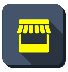 Shop Longshadow Icon vector