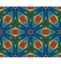 kaleidoscope color seamless pattern vector image vector image