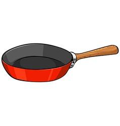 Close up pan vector image
