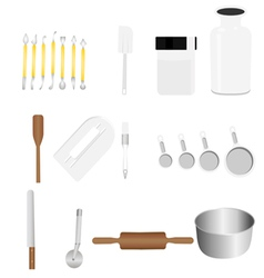 bakery tool 1 vector image