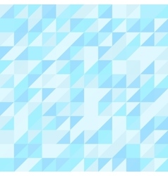 Blue triangle seamless pattern Geometric vector image