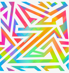 bright stripes seamless pattern vector image