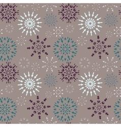 Christmas seamless pattern Dark and light vector image