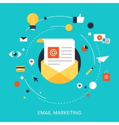 E-mail Marketing vector image