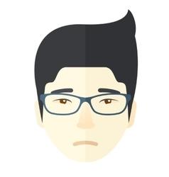 Facial expression man vector