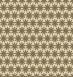 flowers-pattern-retro-06 vector image