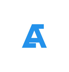 letter a logo designs inspiration isolated on vector image