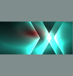 Neon shiny color lines background abstract vector
