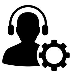Operator Configuration Icon vector