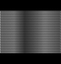 silver rounded rectangle mesh background vector image