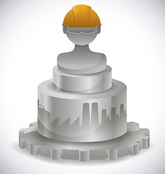 Workers design vector image
