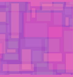 abstract background with rectangles in pink vector image