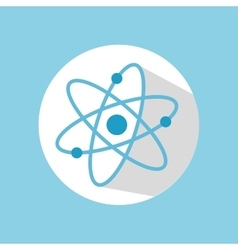 atom chemistry structure vector image