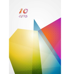 Bright futuristic hi-tech background vector