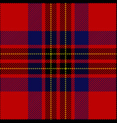 Clan leslie scottish tartan plaid seamless pattern vector