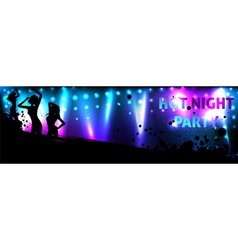 dance banner vector image