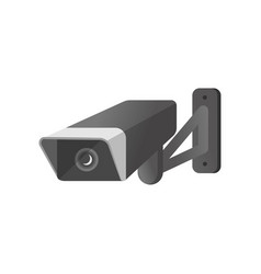 outdoor modern security camera with waterproof vector image