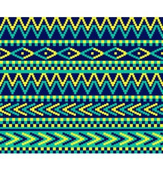 pixeled brazil pattern vector image