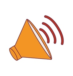 Speaker device icon vector