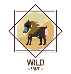 Wild spirit animals vector