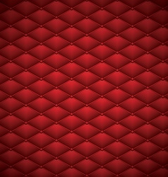 Button Red Leather abstract Luxury background vector image vector image