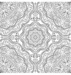 abstract pattern of mandalas vector image