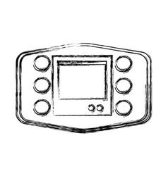 Gps navigator technology of car wireless vector