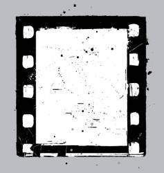 negative film slide vector image vector image