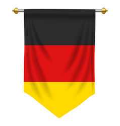 Germany pennant vector