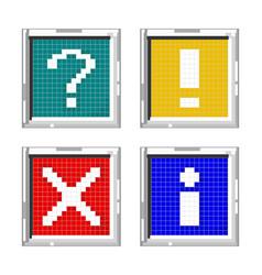 standard icon vector image