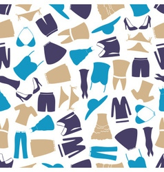 Womens clothing color pattern eps10 vector