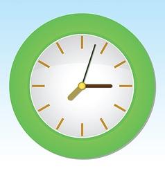 Cartoon Wall Clock vector image