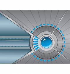 technological background vector image vector image