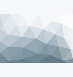 light-colored background in low poly style vector image vector image