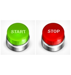 Button start and stop vector