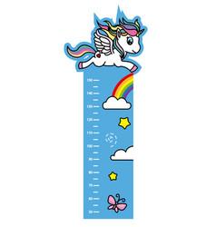 Child wall meter vector