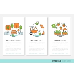 Fruits and Vegetables Thin Line Icons Set vector