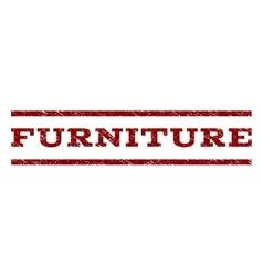 Furniture Watermark Stamp vector
