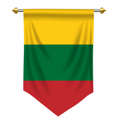 Lithuania pennant vector