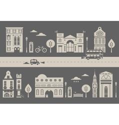 London street vector