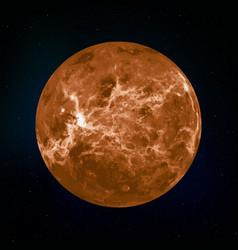 mercury realistic plane vector image