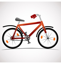 Mountain bike icon vector